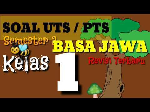 Belajar Soal UTS / PTS Basa Jawa Kelas 1 SD/MI Semester 2