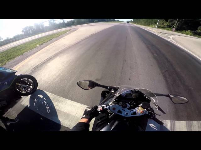 Wheelies  BMW s1000rr 2015