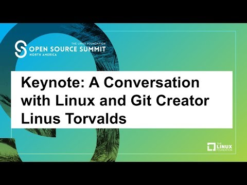 Keynote: A Conversation with Linux and Git Creator Linus Torvalds