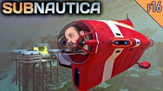 Subnautica #F16 | HACIENDO Y CHETANDO EL CYCLOPS | Gameplay Español