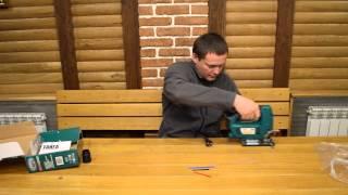 Лобзик электрический Тайга ПЛЭ 100 С Лазерной линейкой!(Лобзик электрический Тайга ПЛЭ 100 лазер видео обзор., 2014-04-16T19:22:37.000Z)