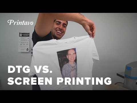 DTG Vs. Screen Printing | Pros, Cons, How Much It Costs