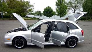 2002 Mazda Protege 5 - Hatchback - Automatic - 131,000Kms. - SOLD - www.MalibuMotorsVictoria.com