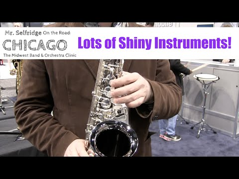 Trying out Lots of Shiny Instruments!