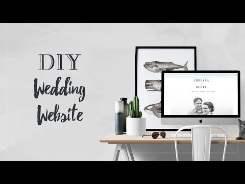 How to Make a Wedding Website with Minted
