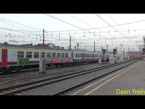 HLE 18 26 met M4 komt aan in Brussel Zuid