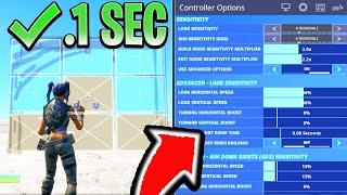 BEST CONTROLLER SETTINGS in Fortnite! BEST CONSOLE SETTINGS FOR PS4/XBOX (Fortnite Best Sensitivity)