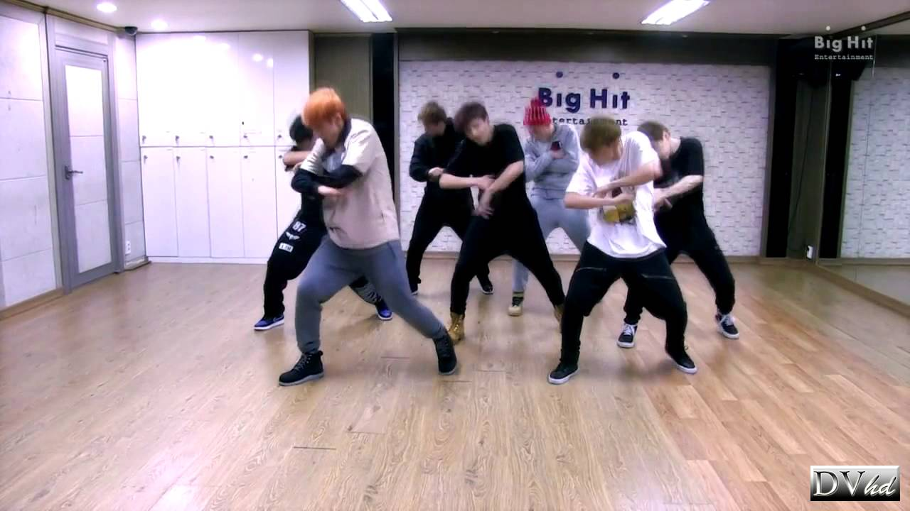 Bangtan Boys (BTS) - Boy in Luv (dance practice) DVhd ...