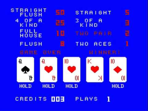 how to play jokers wild video poker