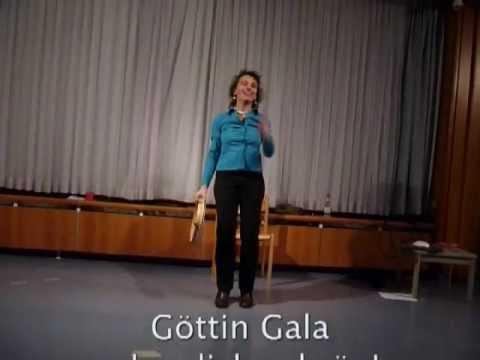 Göttin Gala - Tilten und Pir - Literarisches Musik-Kabarett