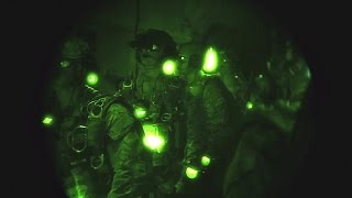 U.S. Army Special Forces Night HALO Jump From RAF C-130J