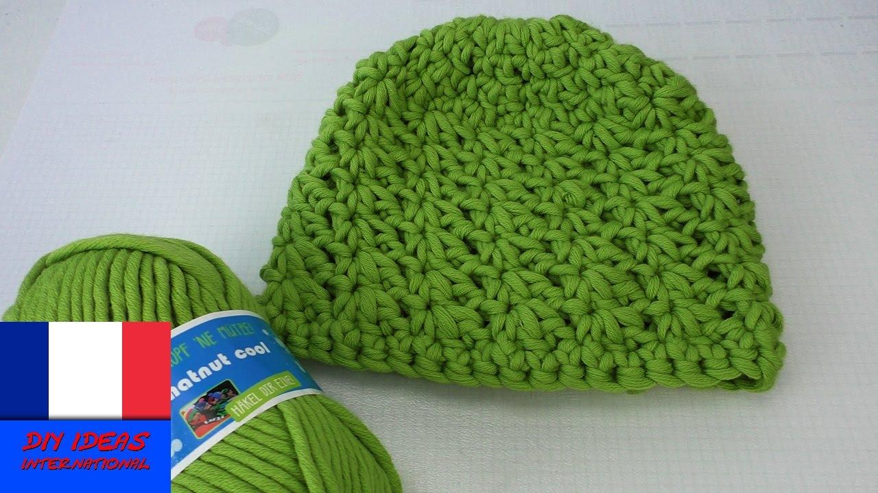 crocheter un bonnet comment crocheter soi m me un bonnet pour l hiver instructions youtube. Black Bedroom Furniture Sets. Home Design Ideas