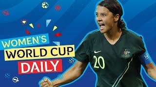 Australia's Kerr bags four | Women's World Cup Daily