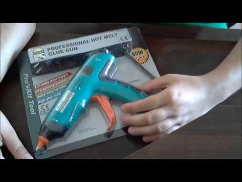 Клеевой пистолет GK-390B 80W 11mm 220V Pro'sKit