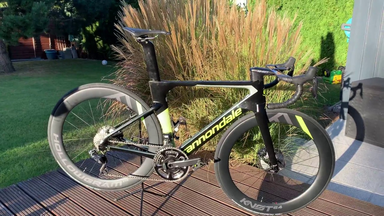 9214bbf9c02 Cannondale Systemsix 2019 Hi-Mod Ultegra DI2 first look - YouTube