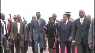 Visite de travail à Brazzaville du Président du Rwanda Paul Kagame