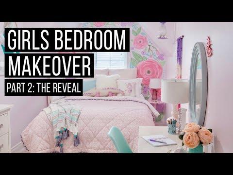 Girls Bedroom Makeover REVEAL | Home Decor