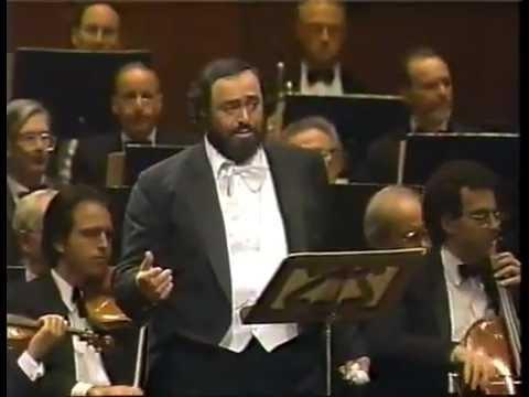 Luciano PAVAROTTI. Granada. Agustin Lara.