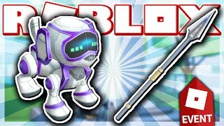 HOW TO GET THE ROBODOG & BLACK PANTHER SPEAR!! (ROBLOX INNOVATION EVENT - Miner's Haven!)