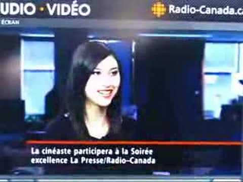 My interview on RDI (Canadian Broadcasting Corp. - French)