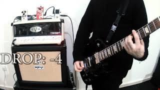 Digitech Drop tune pedal - high gain / metal test