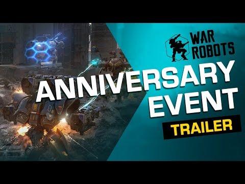 War Robots 5-Year Anniversary EVENT Trailer (2019)