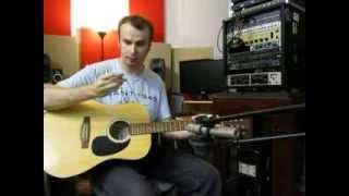 Como grabar guitarras acusticas. Tecnica y filosofia del buen sonido.