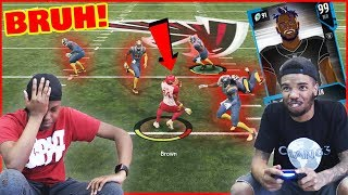 How Are They Doing THIS... To A 99 Overall Antonio Brown?! - MUT Wars Ep.81