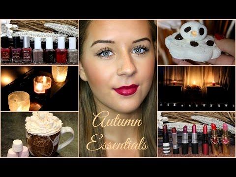 My Autumn Essentials/Favourites | Faobeauty