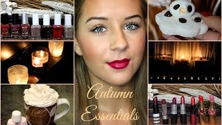 My Autumn Essentials/Favourites | Faobeauty Thumbnail