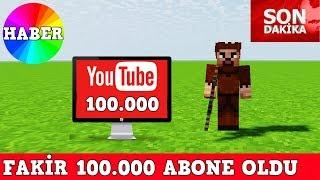 ZENGİN VS FAKİR #83 - Youtuber Fakir 100.000 Abone Oldu (Minecraft)