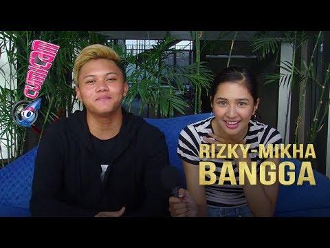 Lagunya Disukai Banyak Orang, Rizky Febian dan Mikha Tambayong Senang - Cumicam 06 Juli 2018