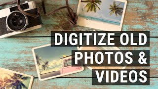Preserving your old photos, videotapes and films   Digital Life Hack
