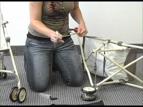 Double Umbrella Stroller Conversion kit.flv - YouTube