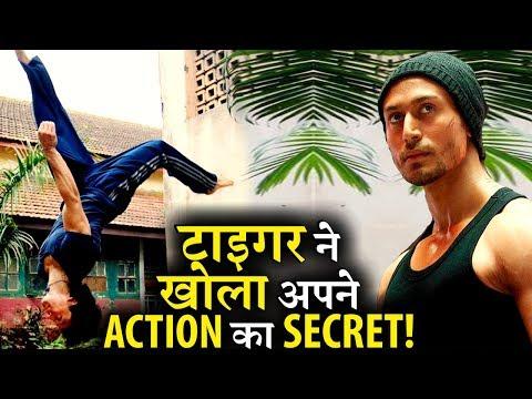Tiger Shroff Reveals His SECRET Action Trick! Mp3
