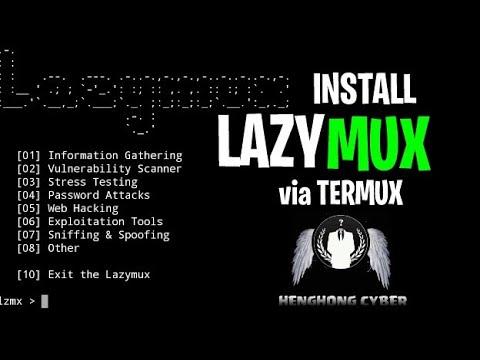 15 06 MB] CARA INSTALL LAZYMUX || VIA TERMUX || BANYAK TOLLS