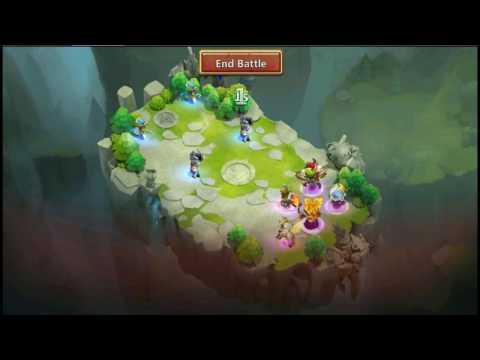 Castle Clash | Team Dungeons - Lost Realm | 4K | ForumsG.co.il