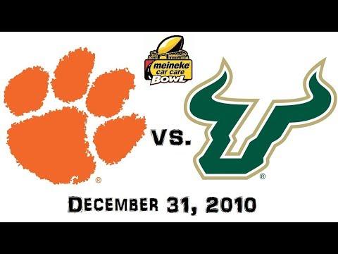 Meineke Car Care Bowl - December 31, 2010 - Clemson Tigers vs. South Florida Bulls Full Game