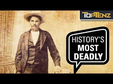 Top 10 Deadliest Gunslingers