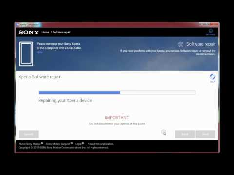 Sony Xperia L C2105 Software Update/Repair