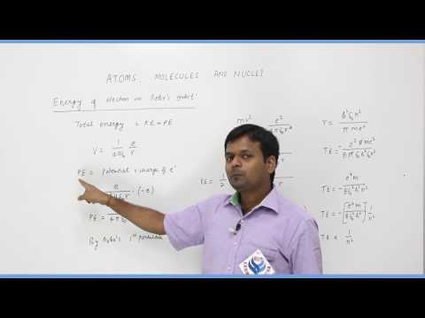Atoms,Molecules & Nuclei Part-1 Physics Board video lecture By Rao IIT Academy