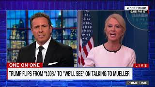 Kellyanne Conway: 'Nobody here talks about Hillary Clinton'