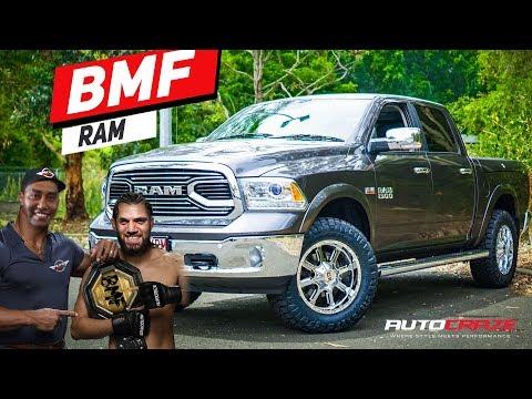 BMF RAM // AUSTRALIAN RAM TRUCK BUILD LIFT KIT, WHEELS, TYRES, 4X4 ACCESSORIES & MORE