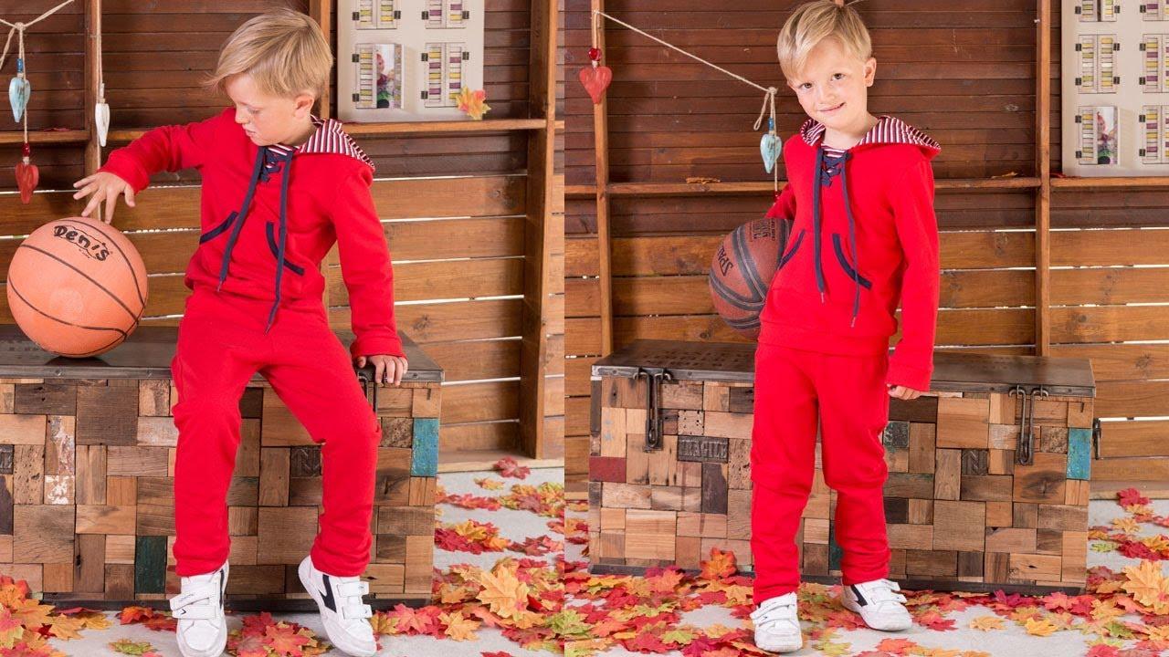 Pantalón de chandal. REVISTA PATRONES INFANTILES Nº 8