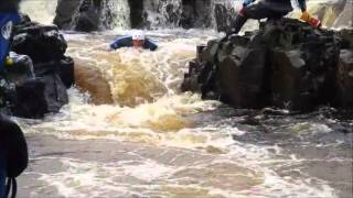 Kayaking River Tees -Salmon Leap & Force Falls