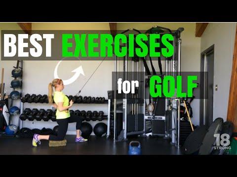 Best Exercises For Golf