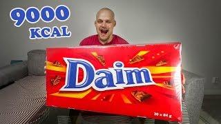 Daim-Haaste - 9000kcal