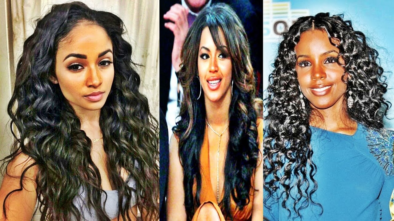 Latest Natural Hairstyles For Long Hair Black Women Youtube
