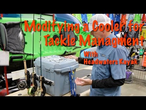 Feelfree Cooler Mods for Kayak/SUP Fishing