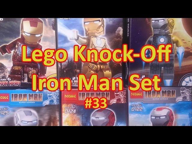 Review #33: Lego Knock-Off Iron Man Set